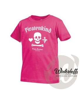 Kinder T-Shirt Piratenkind Basic