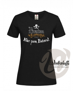 Piratenabenteuer Damen Girlie Shirt - Regular 2c